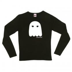 Camiseta manga larga diseño fantasma