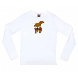 Camiseta manga larga diseño zorrito