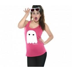 Camiseta tirantes diseño fantasma