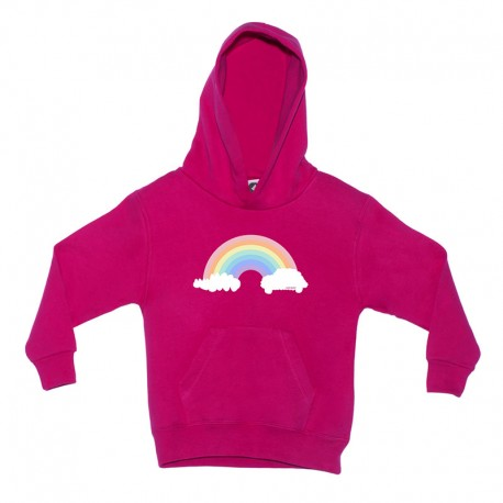 Sudadera para niños diseño arcoíris