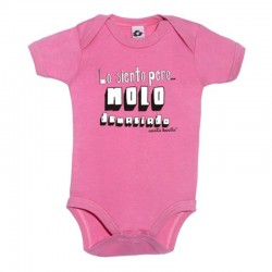 Body para bebé diseño lo siento pero molo demasiado