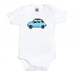 Body para bebé diseño el 600 azul