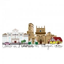 Como en Huesca en ningun sitio