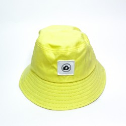 Gorro Pescador amarillo pastel