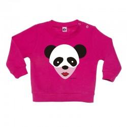 Sudadera sin capucha diseño panda