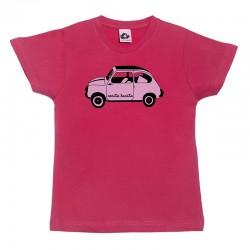 Camiseta manga corta para niños diseño el 600 rosita