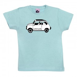 Camiseta manga corta para niños diseño el 600 blanco