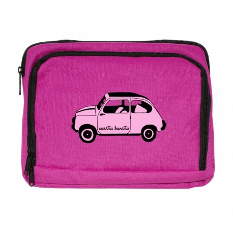 Funda para Ipad y tablet rosa fucsia diseño 600 rosita