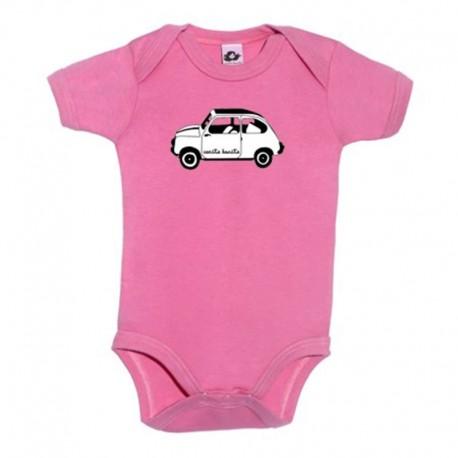 Body para bebé diseño el 600 blanco
