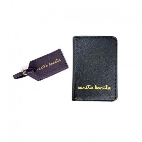 Pack Viaje (pasaporte e identificación de maleta)