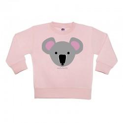 Sudadera sin capucha rosa diseño Koala