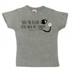 Camiseta manga corta para niños diseño Dalí