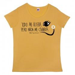 Camiseta manga corta cuello redondo diseño Dalí